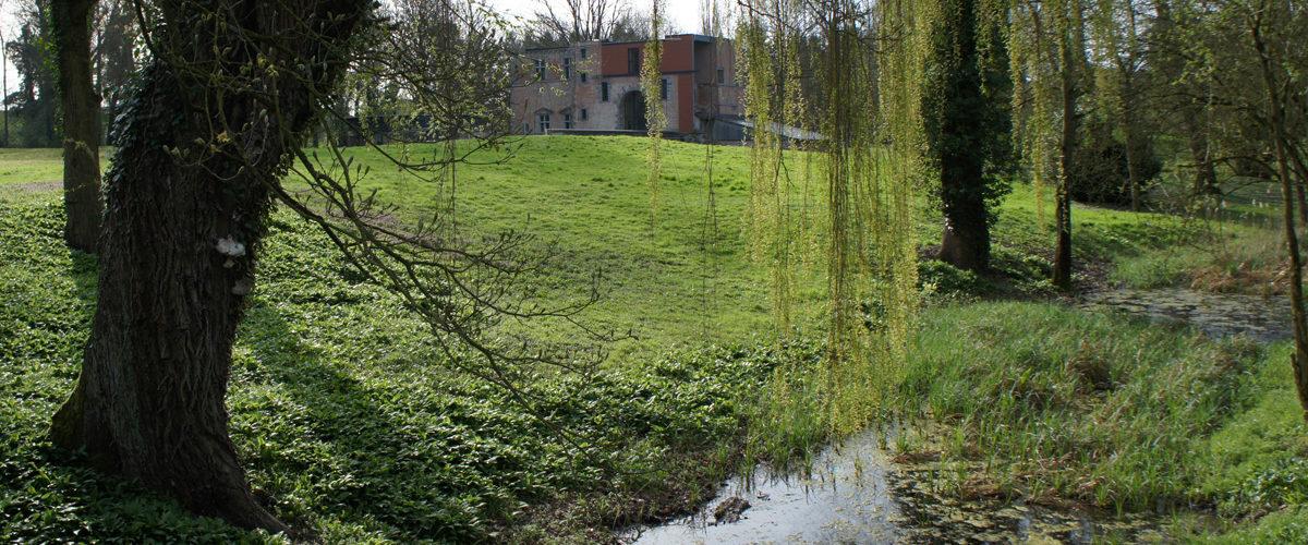 Parc du château de Boussu ©asbl Gy Seray Boussu